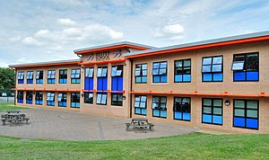 Belper School - Image: Belper School New