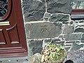 Benchmark at Four Alls, Pant-caerhun - geograph.org.uk - 2390316.jpg