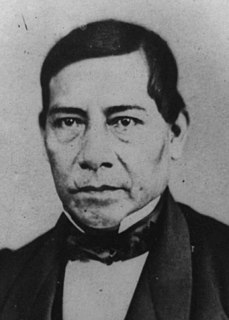 Benito Juárez President of Mexico from 15 January 1858 to 18 July 1872