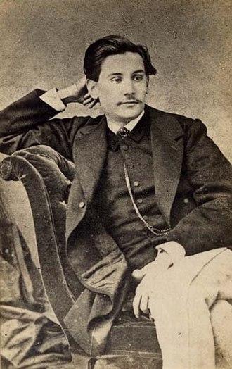 Benito Pérez Galdós - Pérez Galdós, circa 1863.