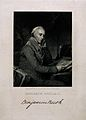 Benjamin Rush. Line engraving by R. W. Dodson after T. Sully Wellcome V0005144.jpg