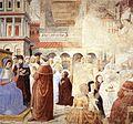 Benozzo Gozzoli - Scenes with St Ambrose (scene 9, north wall) - WGA10301.jpg