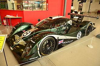 Bentley Speed 8 - Bentley EXP Speed 8 at Coventry Motor Museum