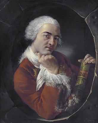 Bernard Forest de Bélidor - Portrait of B. Forest de Belidor (1698-1761) (Louis-Gabriel Blanchet, 1752)
