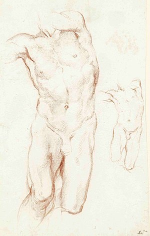 Daniel and the Lion (Bernini) - Studies for the statue in Leipzig