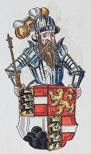 Berthold II, Duke of Carinthia - Image: Berthold I Zahringen