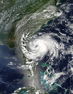 2012 Atlantic hurricane season - Image: Beryl May 27 2012 1835Z
