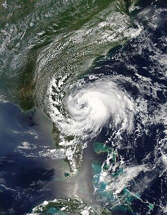 2012 Atlantic hurricane season - Image: Beryl May 27 2012 1835Z