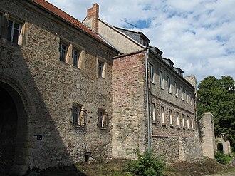 Allstedt - Image: Beyernaumburg Burg Tor