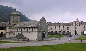 Sanctuary of Oropa - Image: Biella, Santuario di Oropa Basilica Antica 02