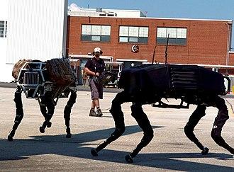 BigDog - Image: Big dog military robots