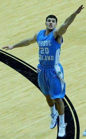 Billy Baron - Baron playing for Rhode Island