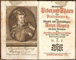 József Rákóczi - Image: Biography of József Rákóczi 1739