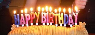 Birthday - Image: Birthday candles