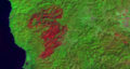 Biscuit Fire, 23 September 2002, Landsat 5, bands 642.tif