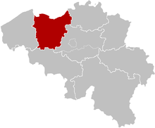 The Diocese of Ghent, is almost coextensive with the province of East Flanders. It also includes the municipality of Zwijndrecht