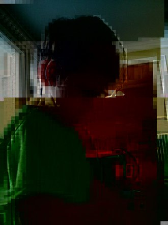 Data degradation - Image: Bitrot in JPEG files, 3 bits flipped
