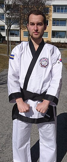 Tang soo do wikipedia black belt tang soo do practitionner fandeluxe Choice Image