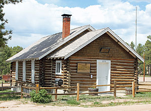 Black Forest, Colorado - The Black Forest School.
