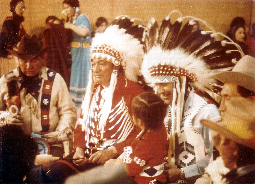 Blackfoot gathering in 1973