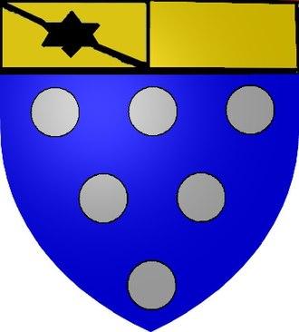 Vadans, Jura - Image: Blason des seigneurs de Vadans
