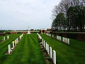 Blauwepoort Farm Commonwealth War Graves Commission Cemetery - Cemetery grounds