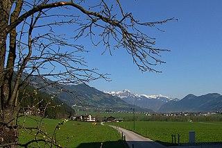 Zillertal Valley in Tyrol, Austria
