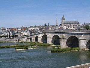 Blois - Bridge over the Loire in Blois