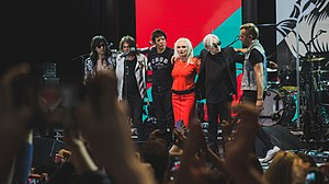 Blondie (band) - Blondie in 2017.