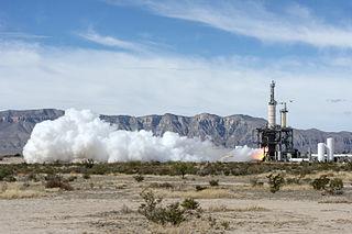 BE-3 Liquid hydrogen/liquid oxygen rocket engine