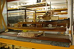 Blythe House, Science Museum 19 - Small Tigris gunboat.JPG