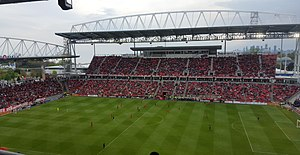 BMO Field - BMO Field in 2016