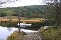 Boat Moored on the River Polloch - geograph.org.uk - 594390.jpg