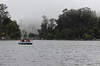Kodaikanal Lake - Boating in Kodaikanal Lake.