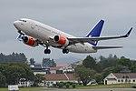 Boeing 737-705 'LN-TUL' Scandinavian Airlines System (45015021982).jpg