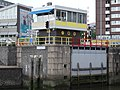 Boerengatbrug - Rotterdam - Bridge operator's house and sluice gate.jpg