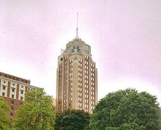 National Register of Historic Places listings in Ingham County, Michigan - Image: Boji Tower