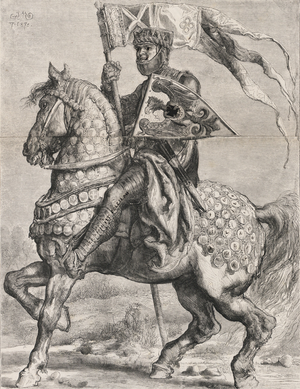 Bolesław I the Tall - Bolesław I the Tall in a drawing by Jan Matejko.