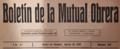 Boletín de la Mutual Obrera (08-1932) cabecera.png