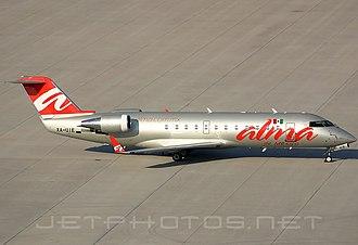 ALMA de México - Image: Bombardier CRJ 200ER, Alma de Mexico JP6437459