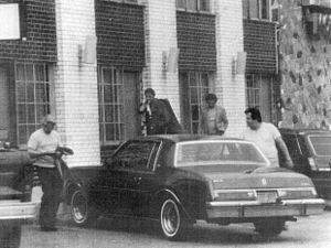 Gerlando Sciascia - From left to right: Sciascia, Vito Rizzuto, unidentified man and Joseph Massino in 1981.