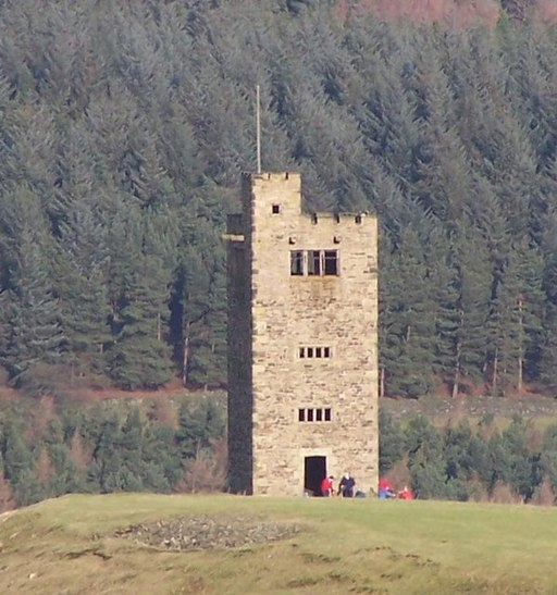 Boot's Folly at Strines Reservoir - geograph.org.uk - 176029