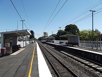 Booval, Queensland - Booval station 02.09.12