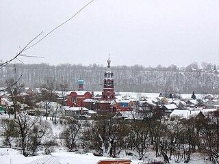 Borovsk Town in Kaluga Oblast, Russia