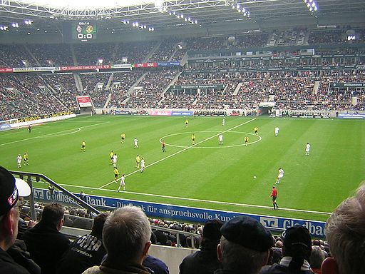 Borussiapark stadium Monchengladbach