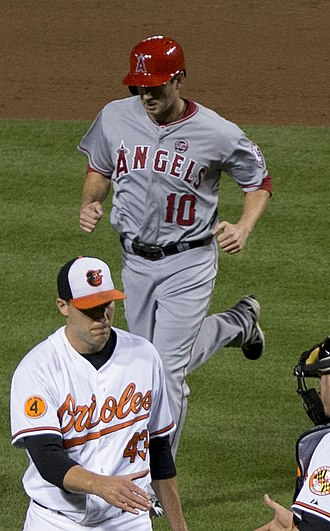 Brad Hawpe - Hawpe with the Los Angeles Angels of Anaheim