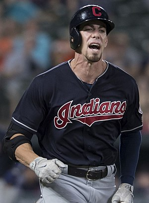 Bradley Zimmer - Zimmer with the Cleveland Indians in 2017
