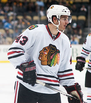 Brandon Saad - Saad with the Chicago Blackhawks in 2011.