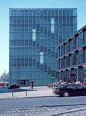 Peter Zumthor - Image: Bregenz kunsthaus zumthor 2002 01