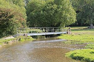 River Meon - Image: Bridge carrying King's Way across River Meon at Soberton geograph.org.uk 237768